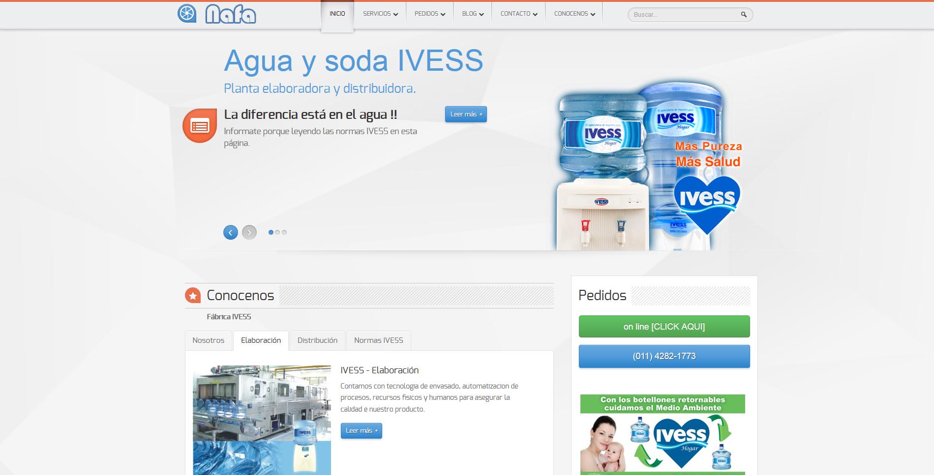 Desarrollo y dise o de paginas y sitios web for Paginas de espectaculos argentina